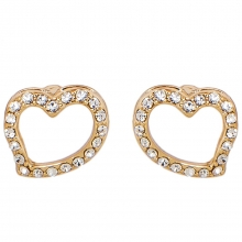 施华洛世奇官方定制系列Symbolic Heart Pierced Earrings