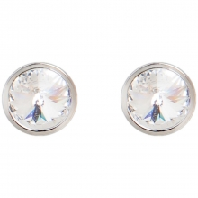 施华洛世奇官方定制系列Twin Solitaire Pierced Earrings