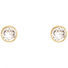 施华洛世奇官方定制系列Crystal Dot Earrings