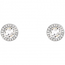 施华洛世奇官方定制系列Rimmed Solitaire Earrings