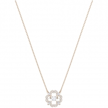 施华洛世奇(SWAROVSKI)经典系列 Sparkling Dance Flower Necklace