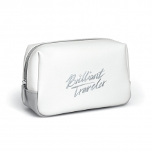 "施华洛世奇(SWAROVSKI)纯白系列商务礼品  Make-Up Pouch Brilliant Traveler  化妆包""Brilliant Traveler"""